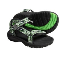 Teva Hurricane  Sandals (For Infants) in Croco Green - Closeouts