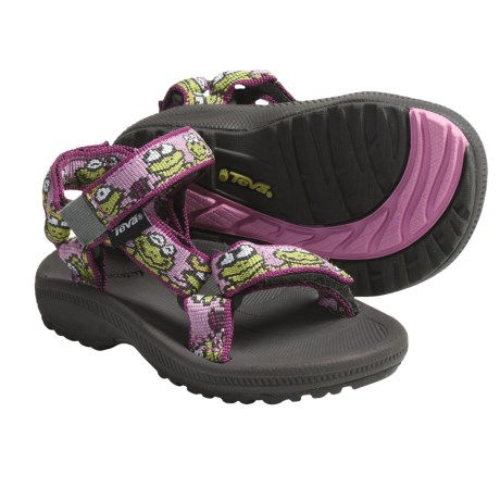 Teva Hurricane  Sandals (For Infants) in Froggy Pink
