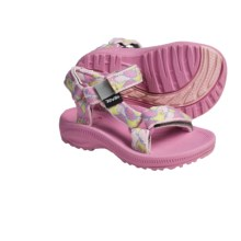 Teva Hurricane  Sandals (For Infants) in Little Bird Pink - Closeouts