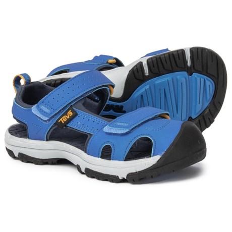 e38091d6b Teva Hurricane Toe Pro Sport Sandals (For Boys) in Dazzling Blue