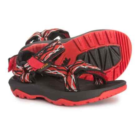 Teva Hurricane XLT 2 Sport Sandals (For Boys) in Delmar Black/Red