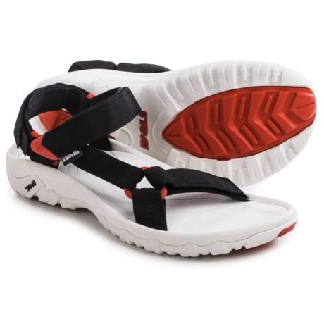 Teva Hurricane XLT Sport Sandals (For Men) in Black/Red