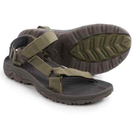 Teva Hurricane XLT Sport Sandals (For Men) in Dark Olive - Closeouts