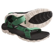 Teva Hurricane XLT Sport Sandals (For Men) in Green - Closeouts
