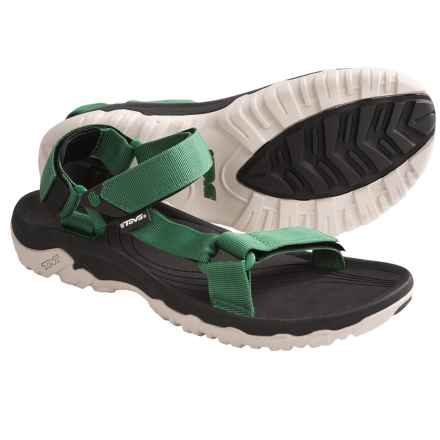 Teva Hurricane XLT Sport Sandals (For Men) in Green - Closeouts