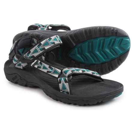 Teva Hurricane XLT Sport Sandals (For Men) in Mosaic Black/Blue - Closeouts