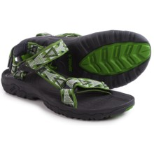 Teva Hurricane XLT Sport Sandals (For Men) in Mosaic Green - Closeouts