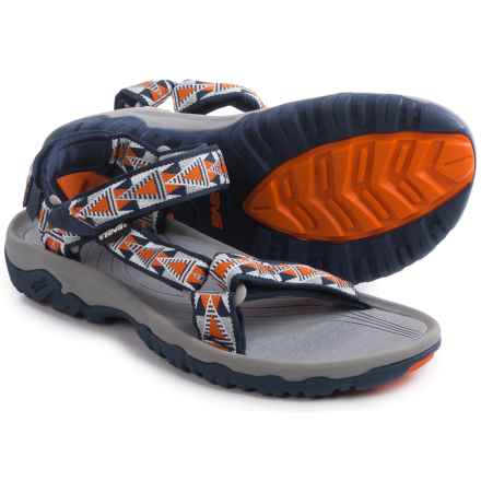 Teva Hurricane XLT Sport Sandals (For Men) in Mosaic Orange - Closeouts