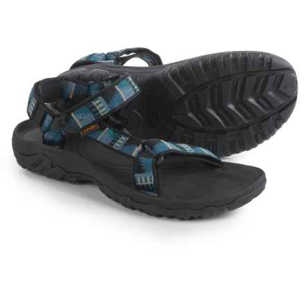 Teva Hurricane XLT Sport Sandals (For Men) in Peaks Black - Closeouts