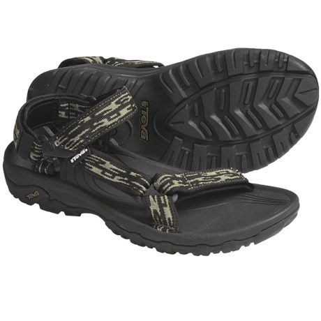 Teva Hurricane XLT Sport Sandals (For Men) in Sharp Wave Blue