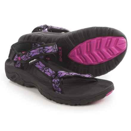 Teva Hurricane XLT Sport Sandals (For Women) in Hazel/Purple - Closeouts