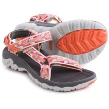 Teva Hurricane XLT Sport Sandals (For Women) in Mosaic White/Pink - Closeouts