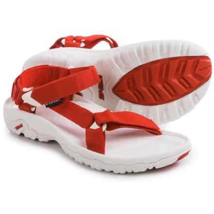 Teva Hurricane XLT Sport Sandals (For Women) in Red/White - Closeouts