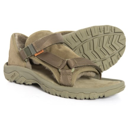 f559479d0dcc Teva Hybrid Sport Sandals - Suede(For Men) in Burnt Olive - Closeouts