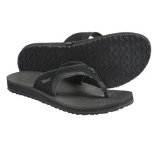 Teva Illum 2 Sandals - Flip-Flops (For Men) in Black - Closeouts