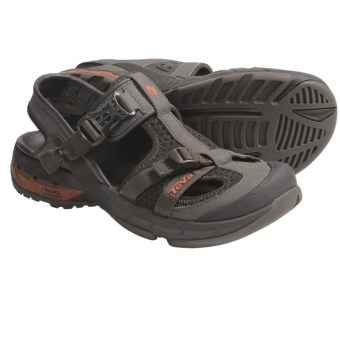 Teva Itunda Sport Sandals - Drain Frame (For Men) in Turkish Coffee