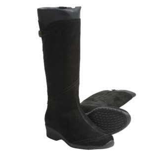 Teva Jade Cove Suede Boots - High (For Women) in Black