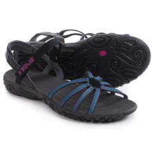Teva Kayenta Strappy Sandals (For Women) in Bailladere Black - Closeouts