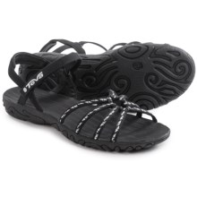 Teva Kayenta Strappy Sandals (For Women) in Cascade Black - Closeouts