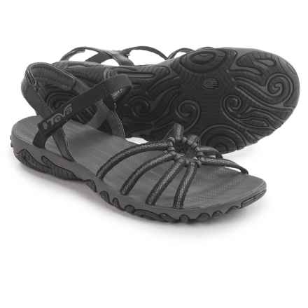 Teva Kayenta Strappy Sandals (For Women) in Vega Black - Closeouts