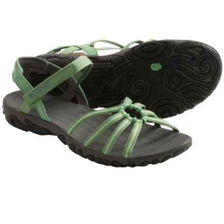 Teva Kayenta Strappy Sandals (For Women) in Vega Green - Closeouts