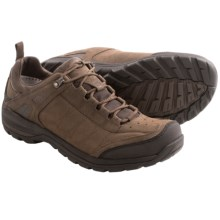 Teva Kimtah Leather Trail Shoes - Waterproof (For Men) in Turkish Coffee - Closeouts