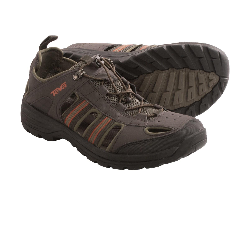 Teva Kimtah Sandals For Men In Black Olive
