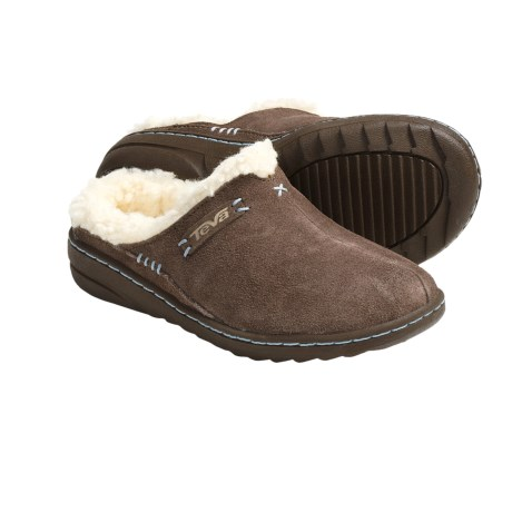 Teva Kiru 2 Clogs - Fleece Lining (For Kids and Youth) in Brown