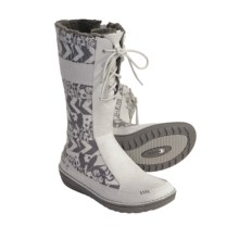 Teva Kiru Boots - Nubuck (For Women) in Lily White - Closeouts