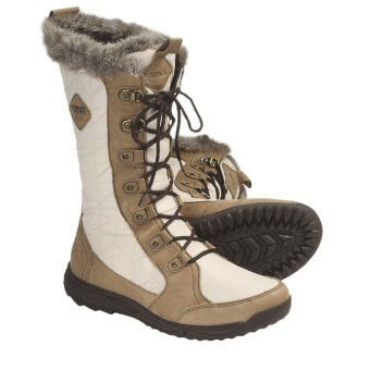 Teva Lenawee Boots - Waterproof (For Women) in Ivory