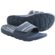 Teva Longshore Slide Sandals (For Men) in Blue - Closeouts