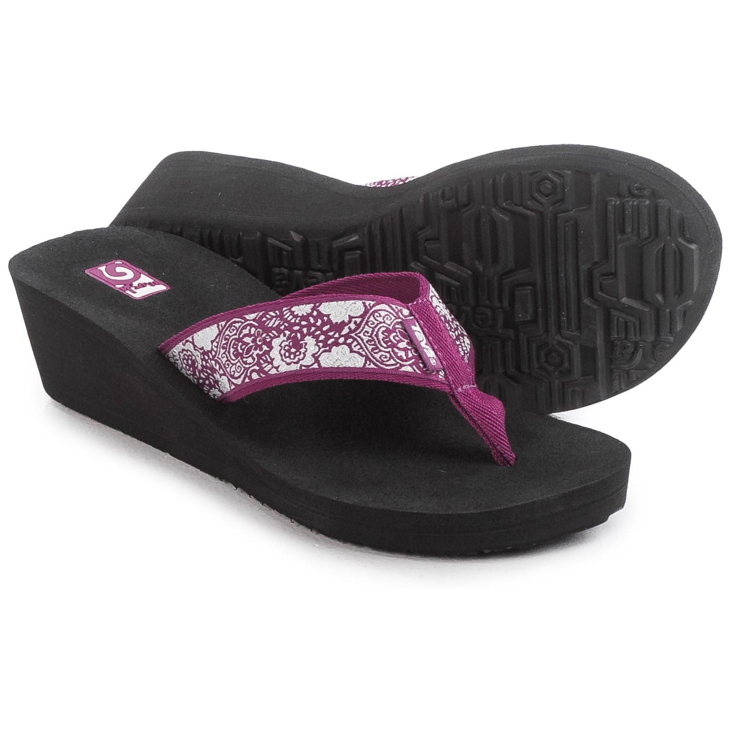 Teva Mandalyn Mush 174 Wedge 2 Sandals For Women Save 56