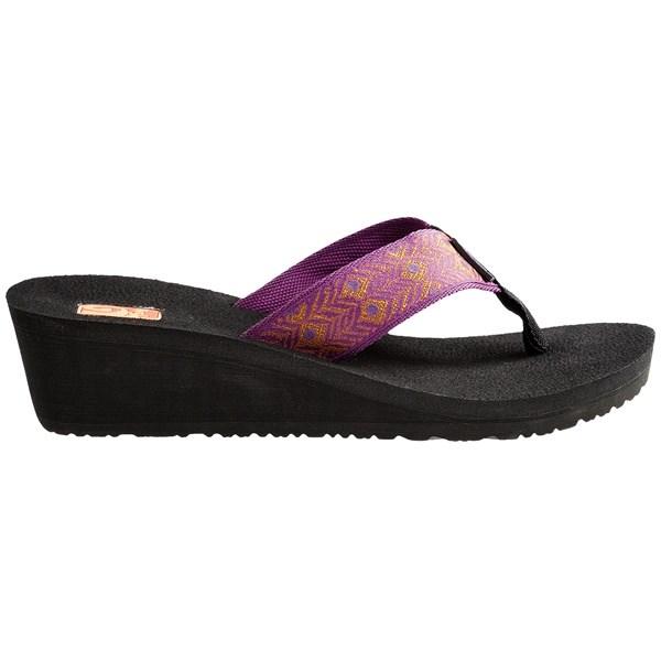 Teva Mandalyn Mush 174 Wedge 2 Sandals For Women Save 56