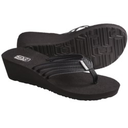 Teva Mush Adapto Wedge Sandals (For Women) in Studded Black