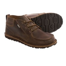 Teva Mush® Atoll Chukka Boots - Leather  (For Men) in Bison - Closeouts