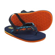 Teva Mush Flip-Flops (For Toddlers) in Blue - Closeouts