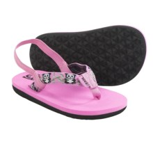 Teva Mush Flip-Flops (For Toddlers) in Pink - Closeouts