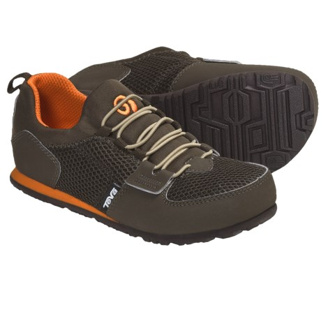 Teva Mush® Frio Bungee Shoes (For Kids and Youth) in Brown