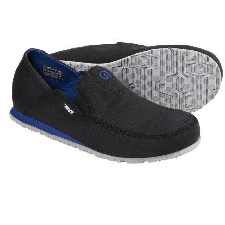 Teva Mush® Frio Canvas Shoes - Slip-Ons (For Men) in Black