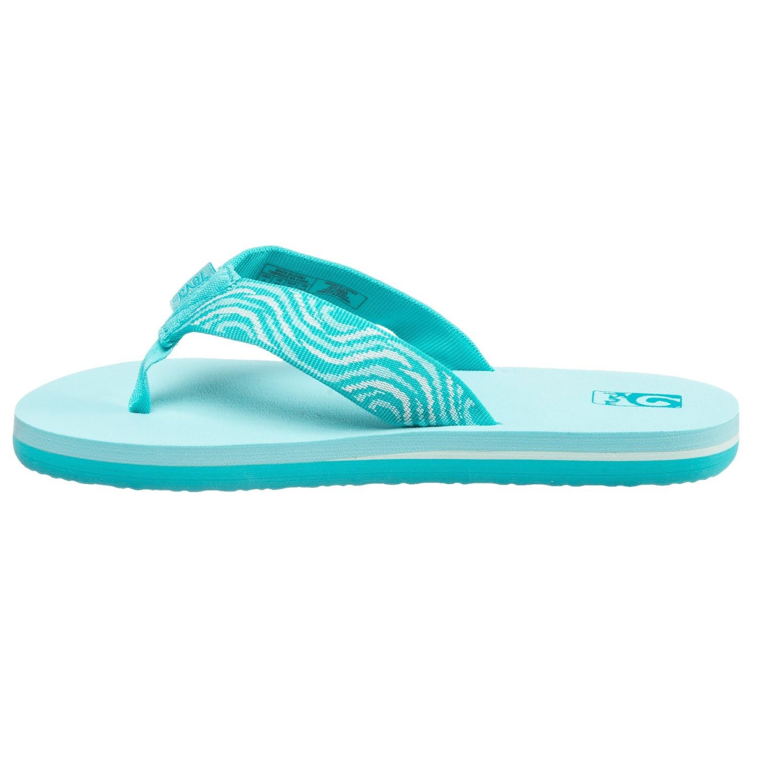 8716e67c6432 Teva Mush® II Flip-Flops (For Girls) - Save 50%