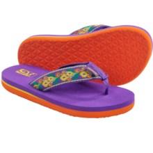 Teva Mush® II Flip-Flops (For Little Kids) in Flora Purple - Closeouts