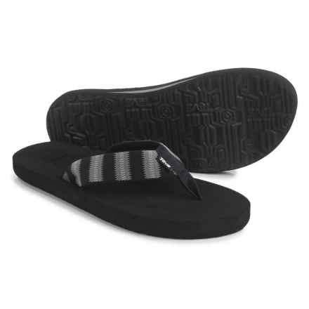 Teva Mush II Flip-Flops (For Men) in Andres Black - Closeouts