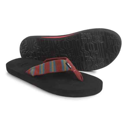 Teva Mush II Flip-Flops (For Men) in Andres Fired Brick - Closeouts
