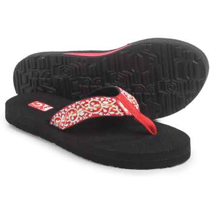 Teva Mush II Flip-Flops (For Women) in Companera Red - Closeouts