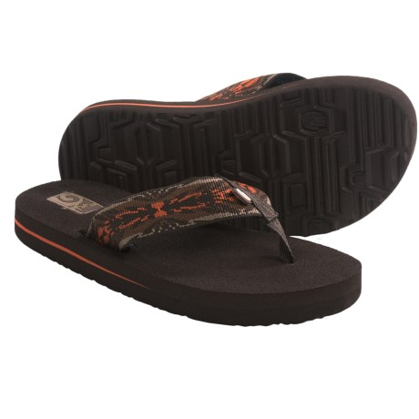 Teva Mush II Sandals (For Kids) in Ambra Brown
