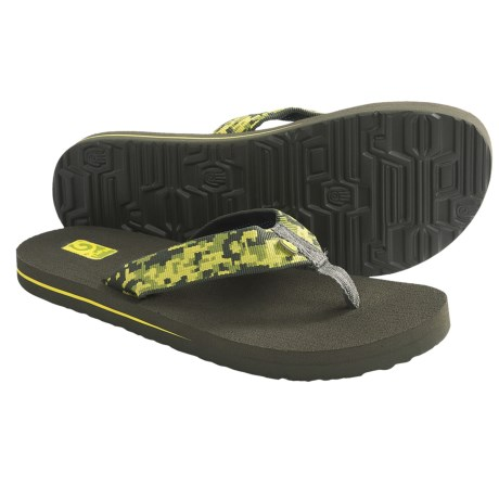 Teva Mush II Sandals (For Kids) in Camo Green