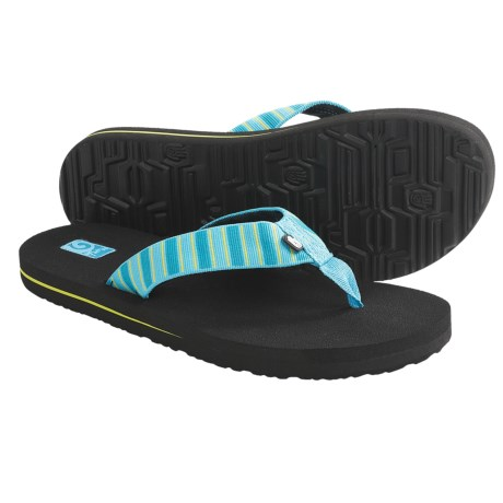 Teva Mush II Sandals (For Kids) in Deco Stripe Multi Blue