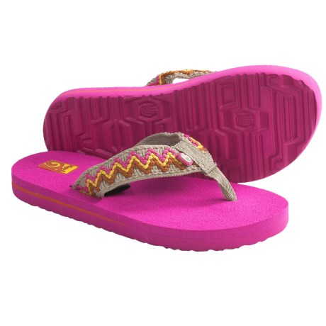 Teva Mush II Sandals (For Kids) in Fiesta Tan