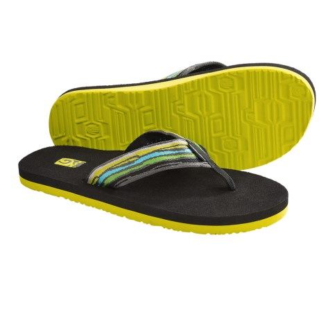 Teva Mush II Thong Sandals - Flip-Flops (For Men) in Docker Lime