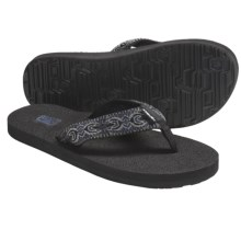 Teva Mush II Thong Sandals - Flip-Flops (For Men) in Island Navy - Closeouts